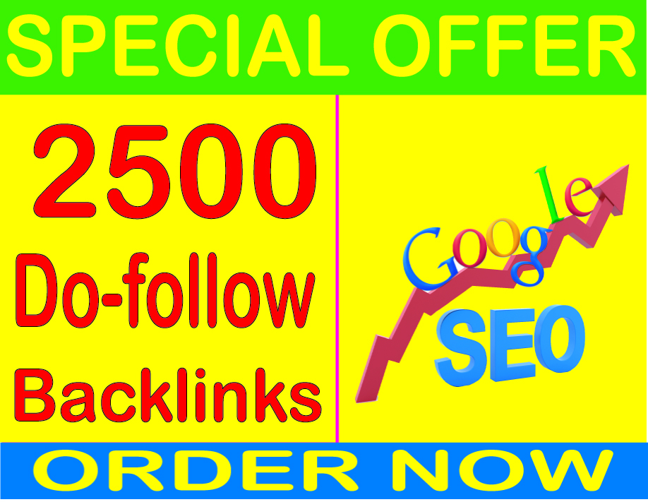 Best SEO -2019- 2500+ Do-follow Of High Quality backlinks for your URL and keywords