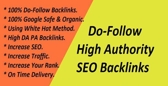 25 High Authority Do-follow SEO Back-links