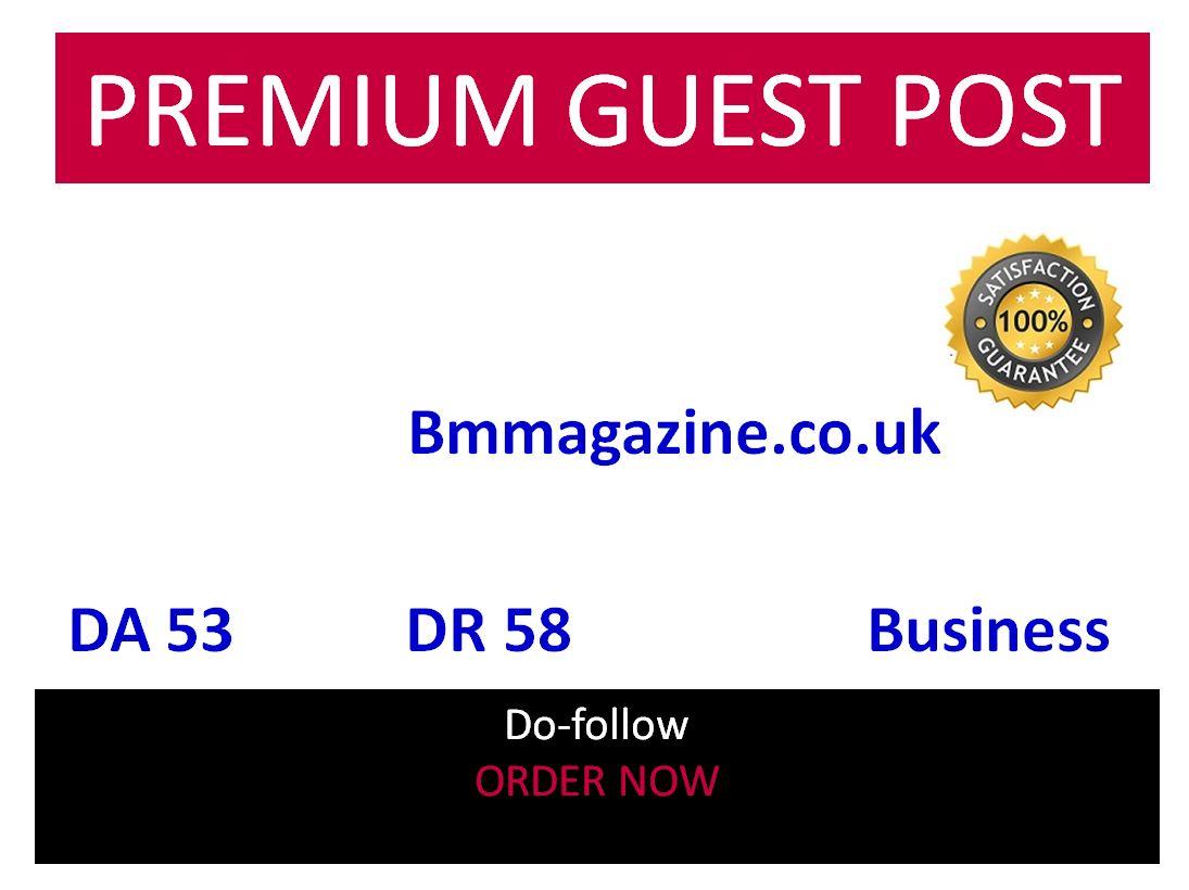 Add A Business GUEST POST ON Bmmagazine. CO. UK BMMAGAZINE 54