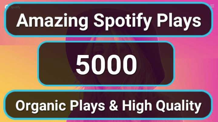 5,000 Amazing Organic Music Track Promotion