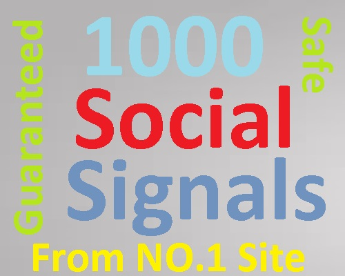 Supernatural 1000 PR9 HQ Social Signals from No.1 Site
