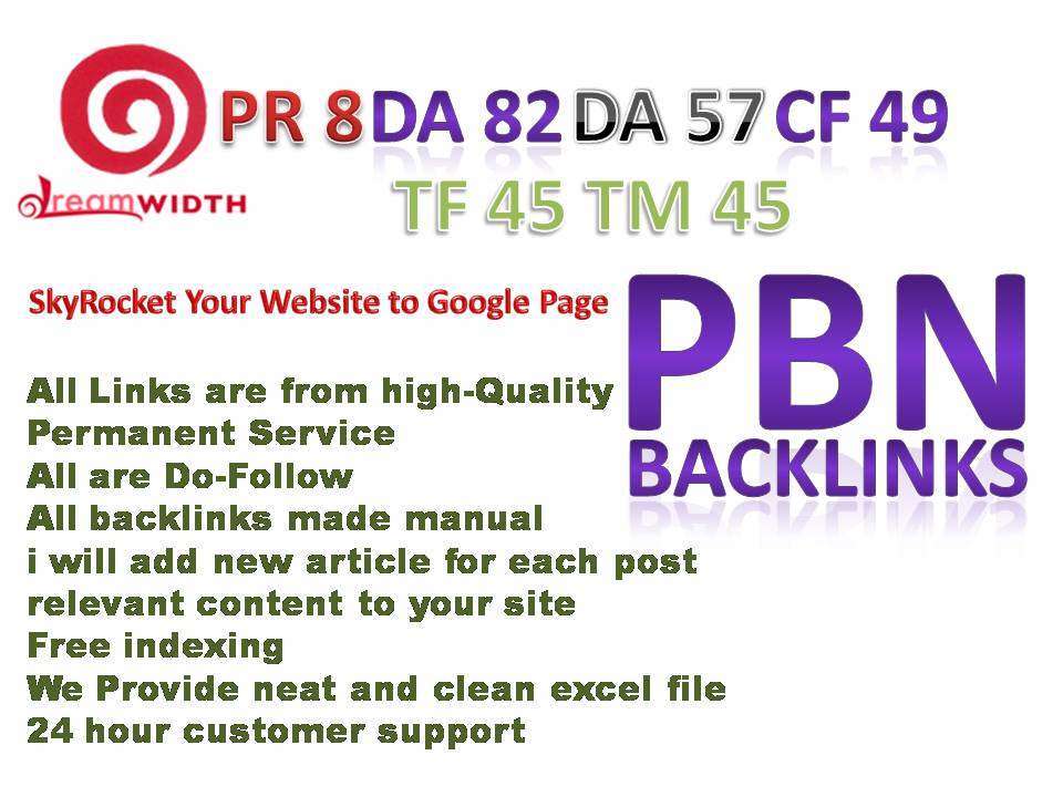 You will Get Powerful 10 dreamwidth PBN Backlinks SkyRocket  Improve Your Website to Google Page