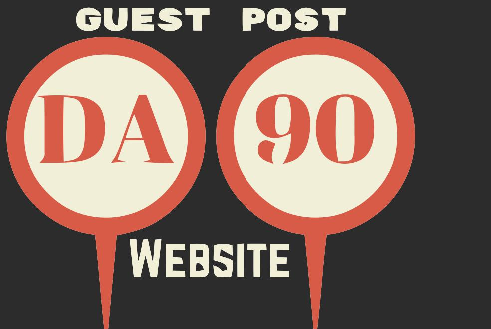5 Guest Post On Da90+ Sites