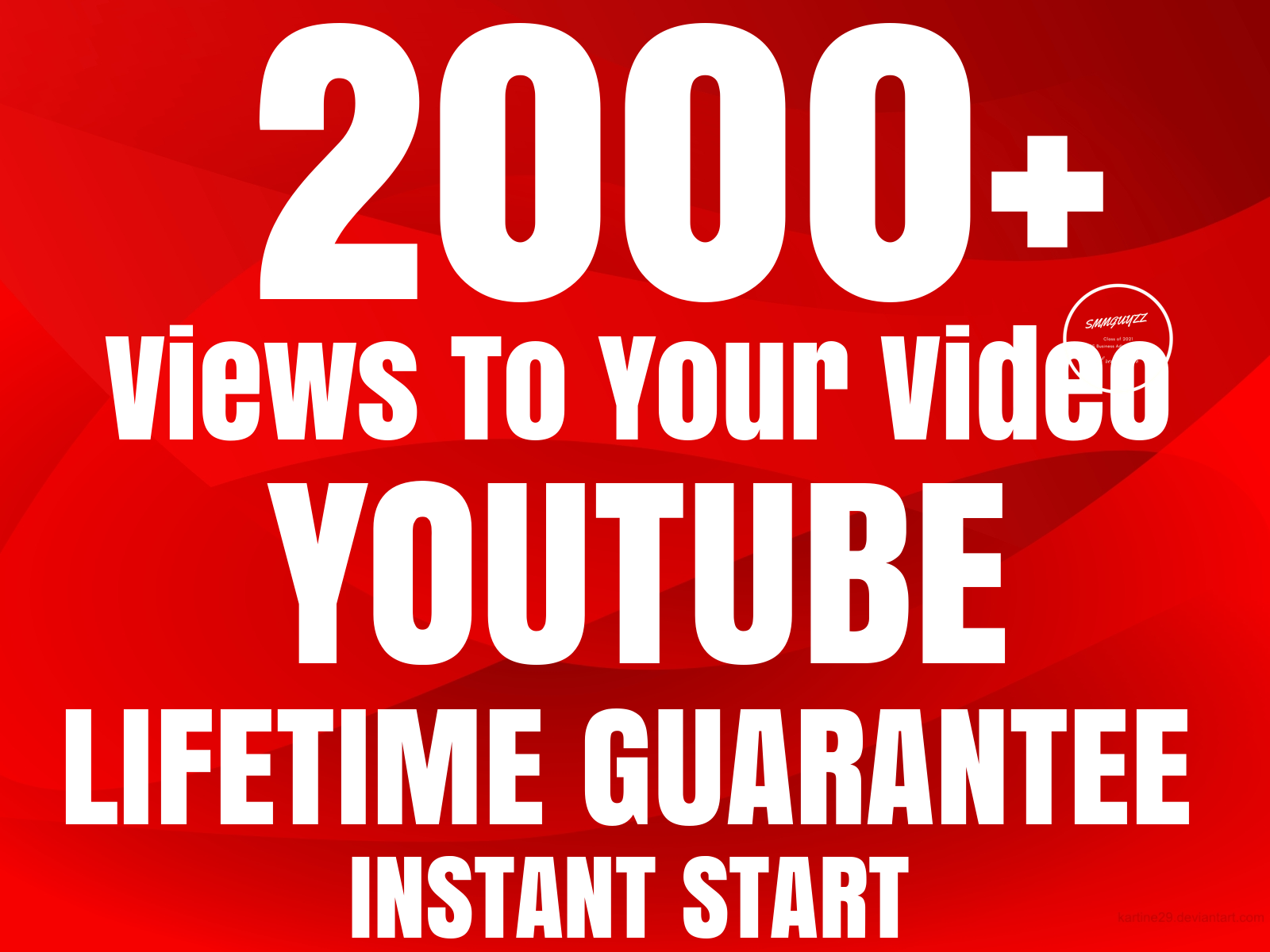NON DROP YouTube Video Instant Promotion With Lifetime Guarantee