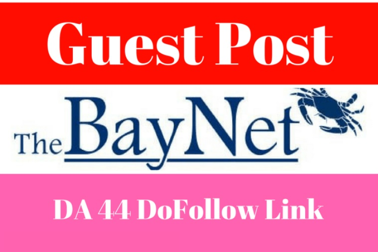 write and Publish A Guest Post With Dofollow Link On Thebaynet DA 93 PA79, PR 8