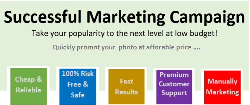 Successful Photo Marketing for your Business Page - Pack 1000