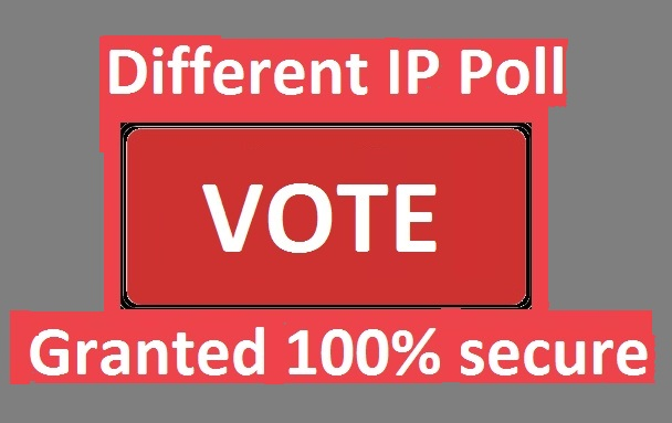 Grow 200 Different ip votes on your poll contest