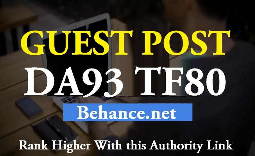 Publish a Guest Post on DA93 TF80 Behance. Net website