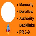 500 High Quality Authority Backlinks I Provide Manually