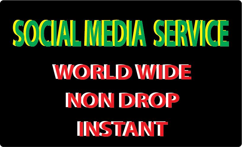 Super fast 10k non drop social media video promotion instant