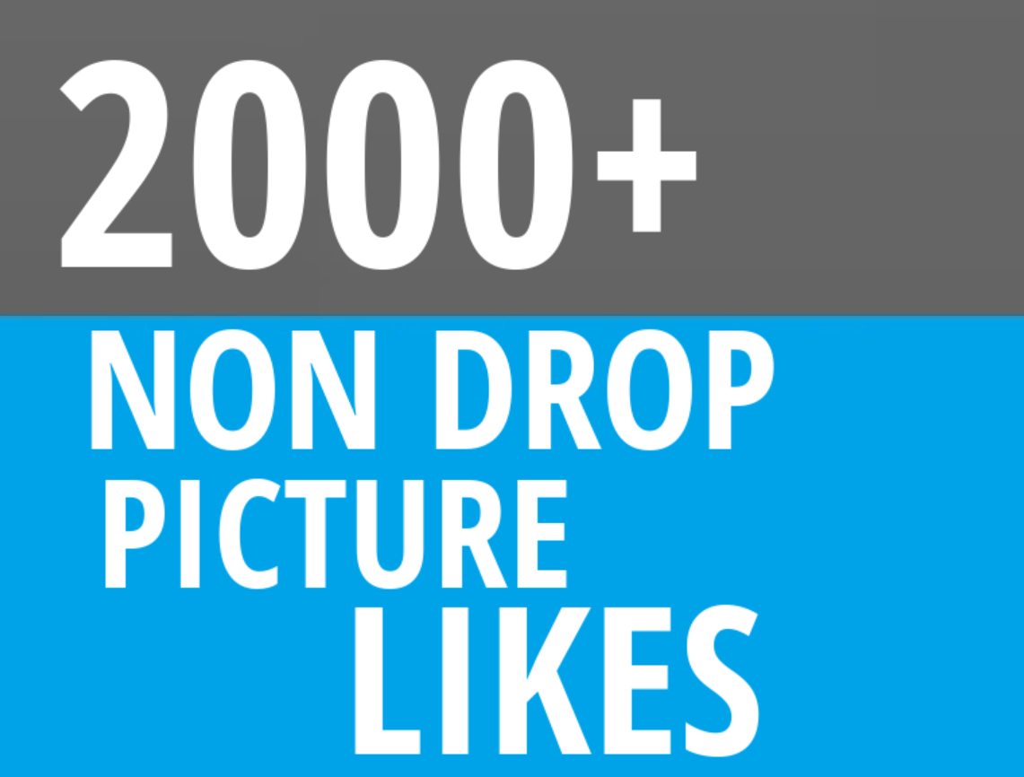 Instant 2000+ Picture OR Video Promotion with Organic Method