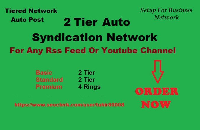 Create 2 Tier IFTTT Syndication Network For Any Rss Feed