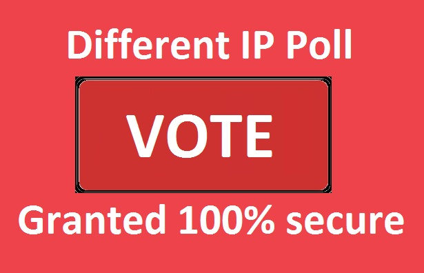 Get hq 500 Different IP Votes For Any Online Voting Contest
