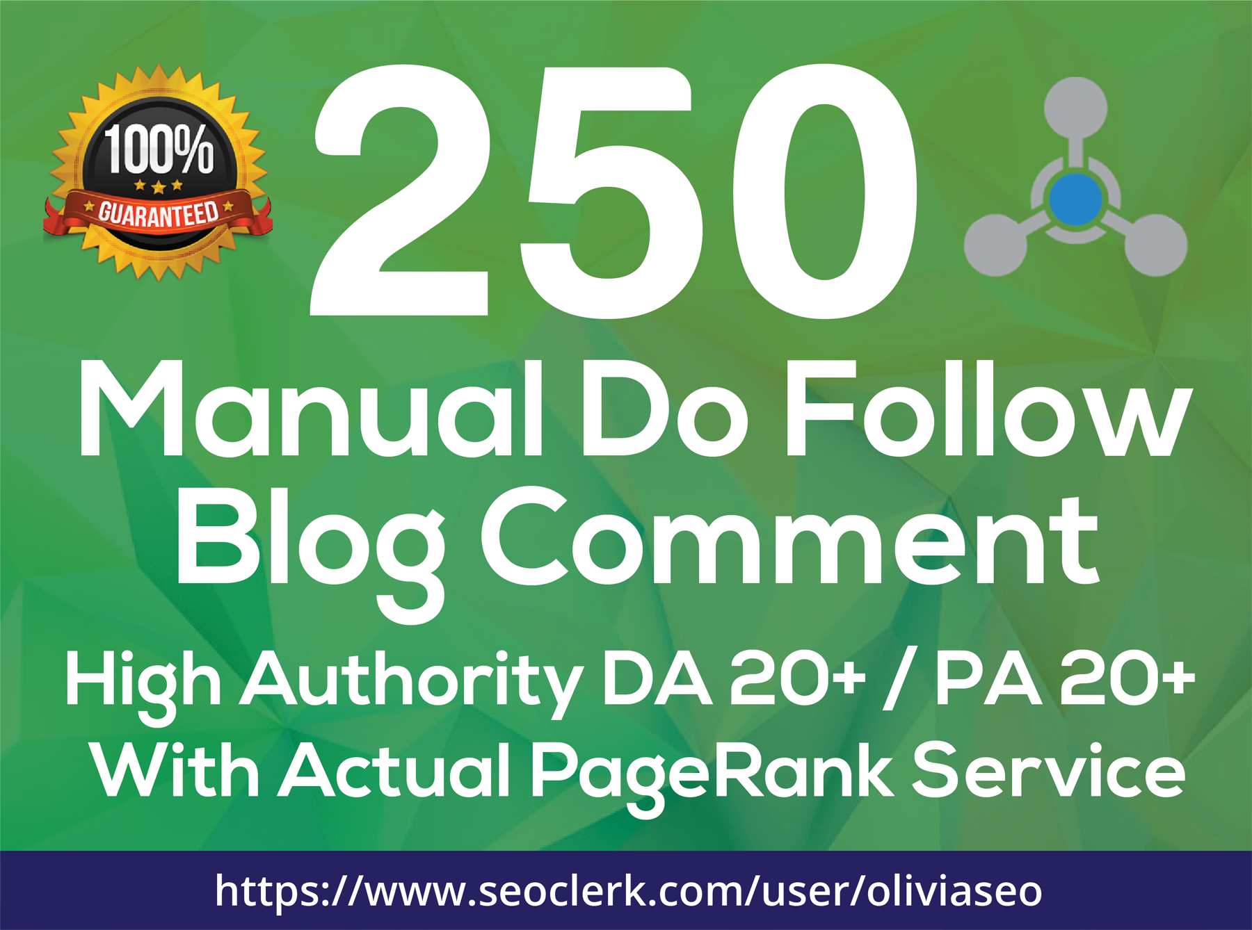 Provide 250 Manual Dofollow Blog Comment Low OBL Backlink