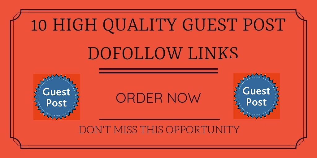 Write And Submit 10 unique guest post-DA 90-40 Limited Time Offer