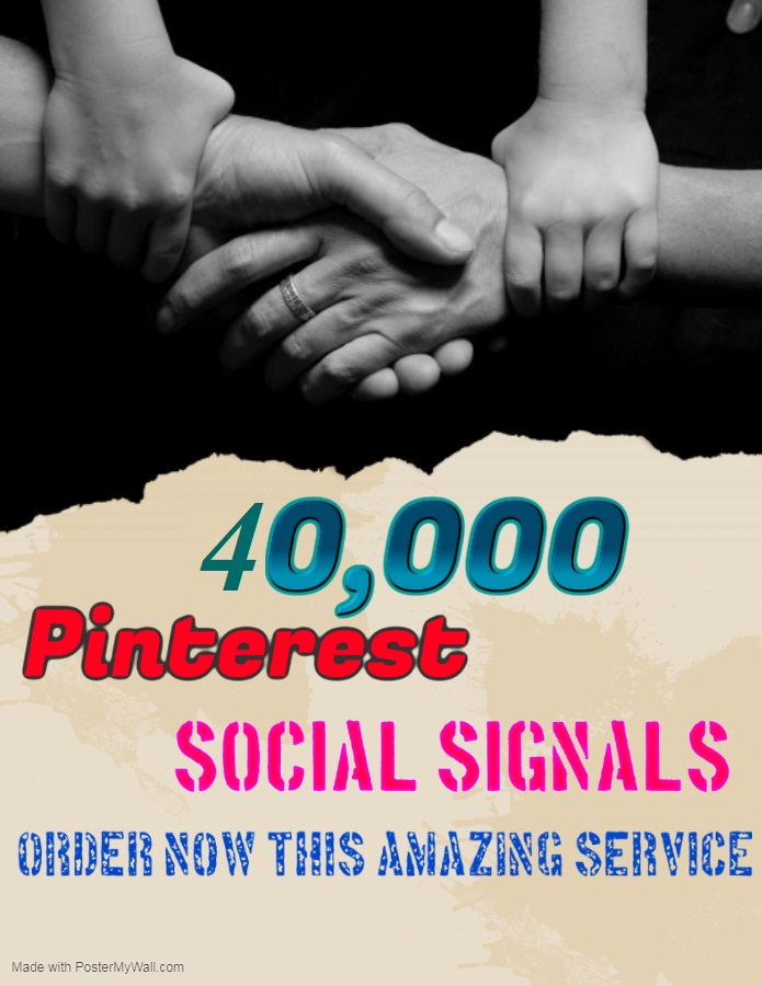 TOP fast Add 40,000+ pinterest Social Signals to Improve SEO and Boost Google Ranking