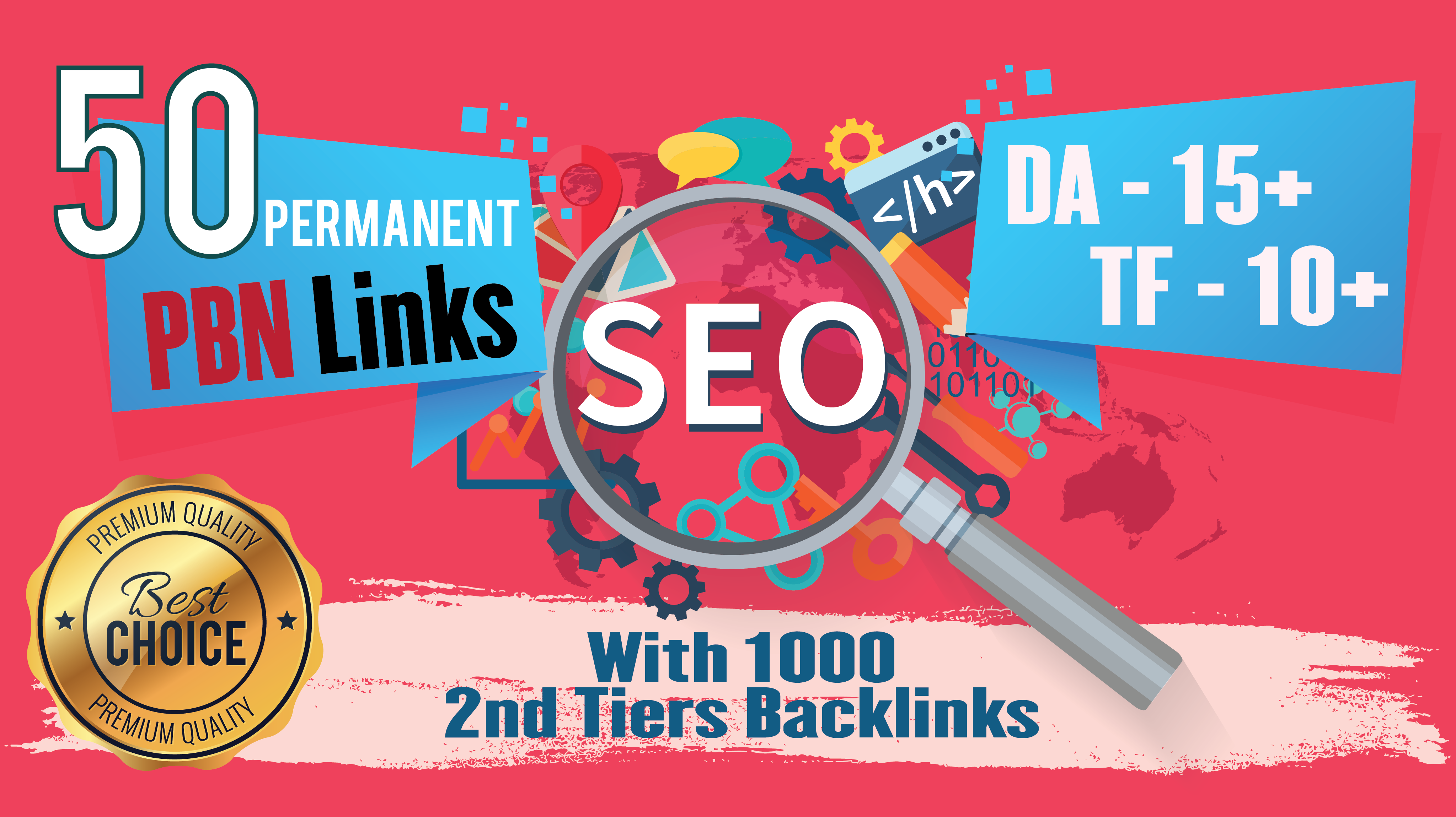 2020 Powerful 50 Homepage Dofollow PBN With 1000 2nd Tiers Backlinks