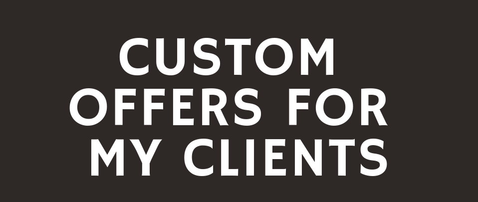 Providing Custom Offers For My Great Clients on Monster Backlinks
