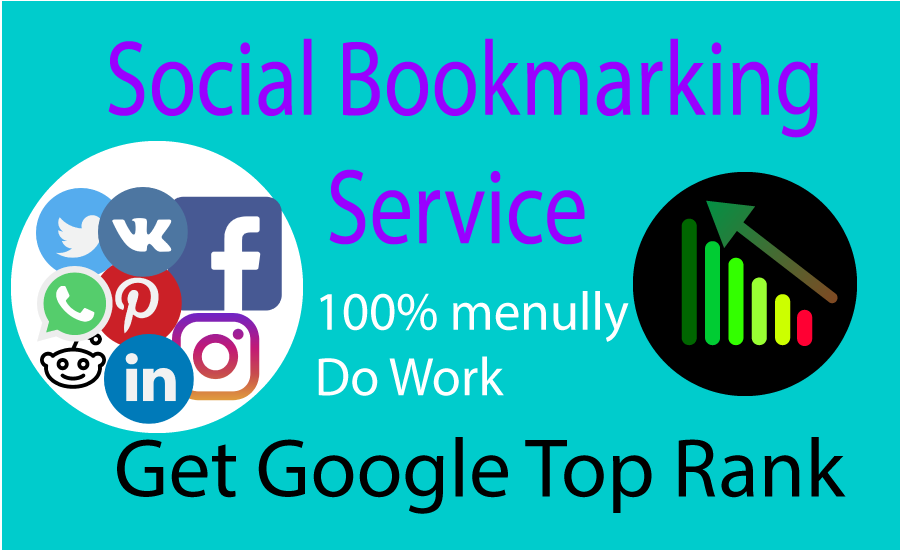 10 Manually Social Bookmarking Back-links in top Domain site