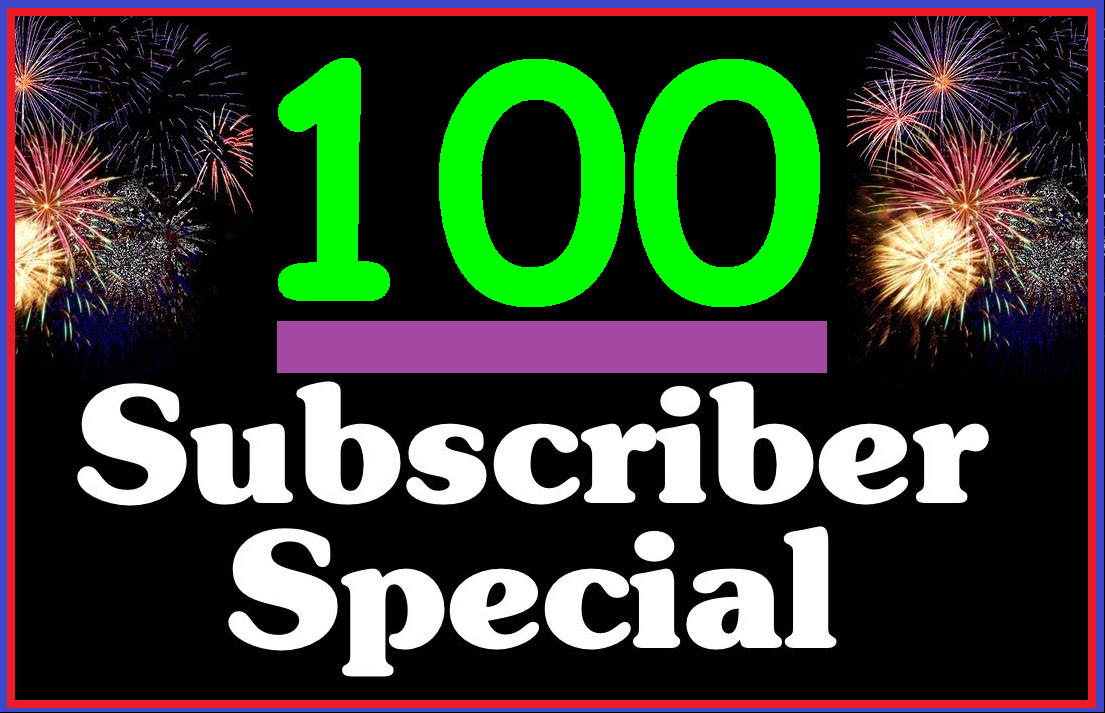 Get 100+ High Quality YouTube Sub For Promotion
