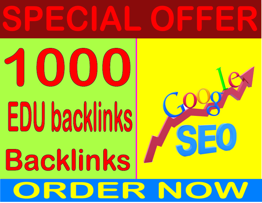 SEO Top Rank- Create 1000 HQ. edu PR7 to PR10 Backlinks Boost SEO Ranking