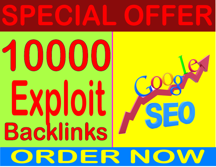 SEO best Packages- Submit you 10000 HQ PR Panda safe Exploit backlinks