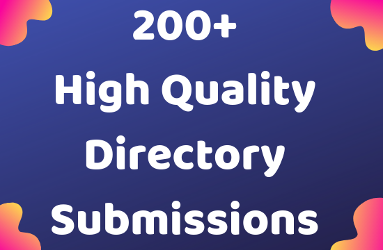 100+ High Da Pa Web Directory Submissions backlinks