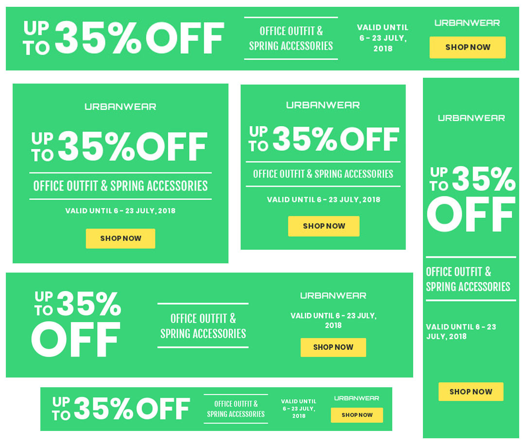 Will get Design An Attractive And Professional Web Banner for 24H