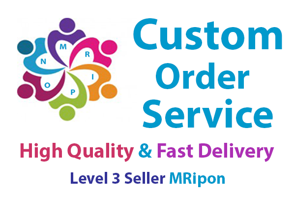 Custom Order For Social Services