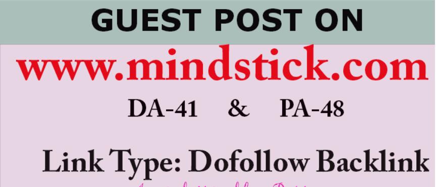 Publish an article on Mindstick. com