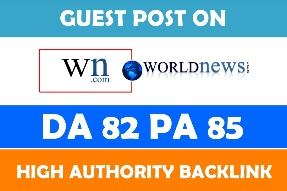 Place a permanent article on WN. com DA-83