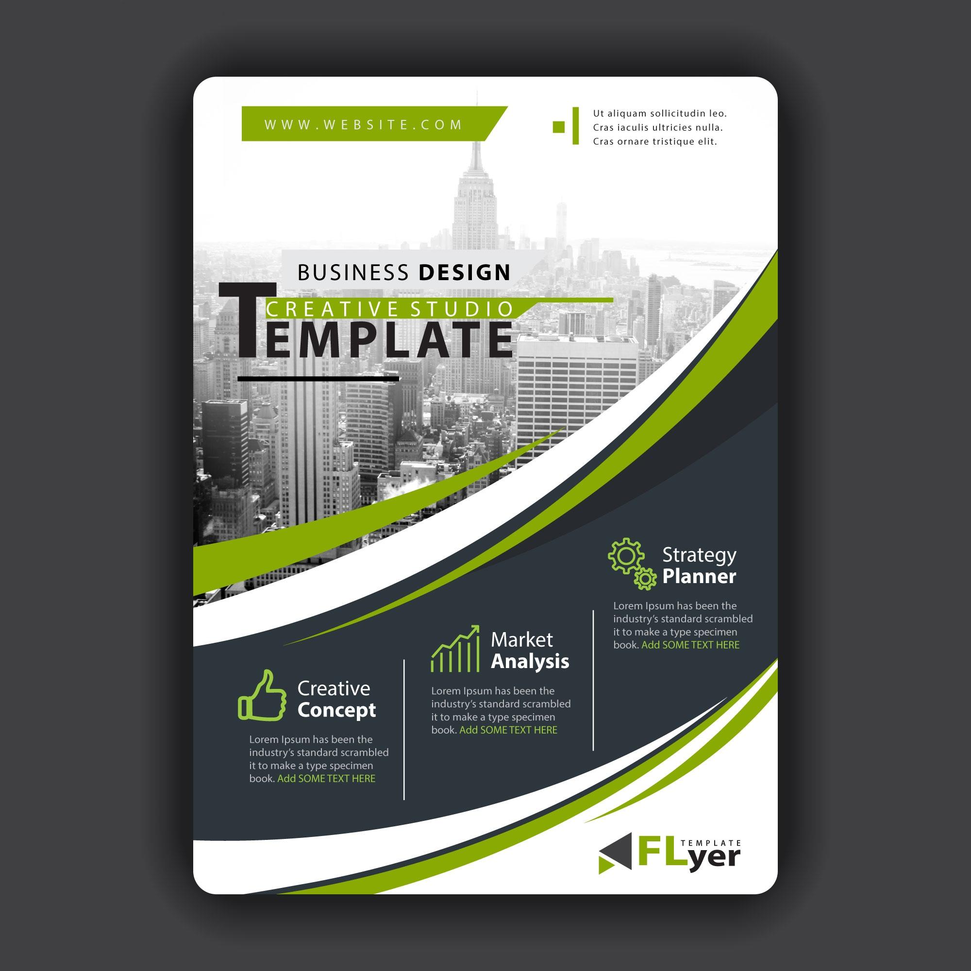 Design professional business flyer,  brochure,  event flyer