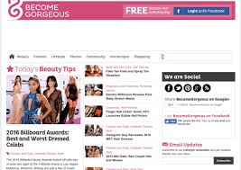 I Can Publish Article Guest Post On BecomeGorgeous.com Fashion And Beauty Blog