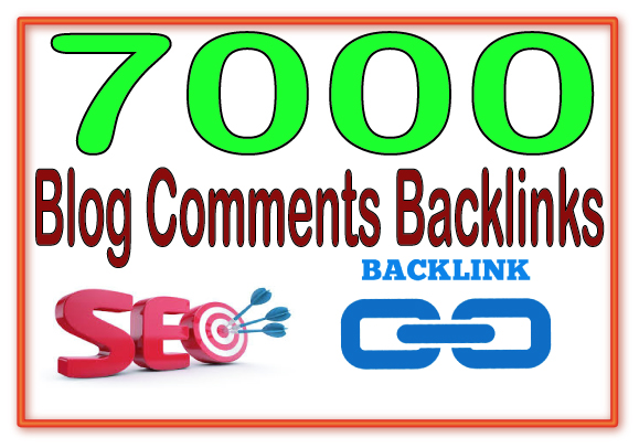 Create 7000 Blog/image/other comments Highest Quality & Most Effective Backlinks