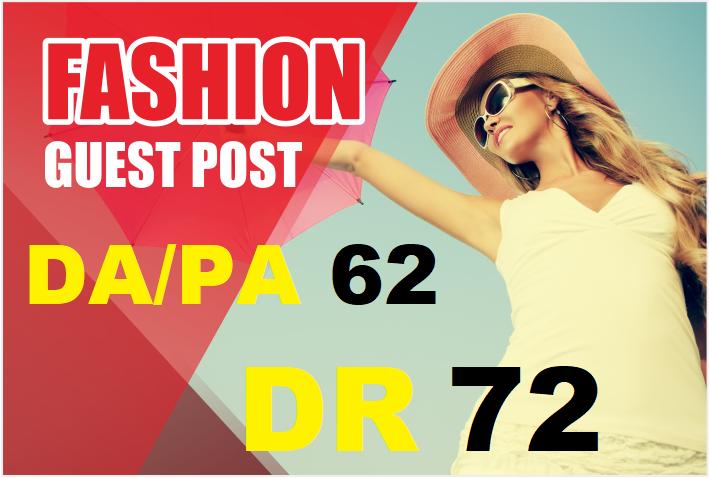 Guest Post on my DA/PA 62 DR 72 Fashion Blog