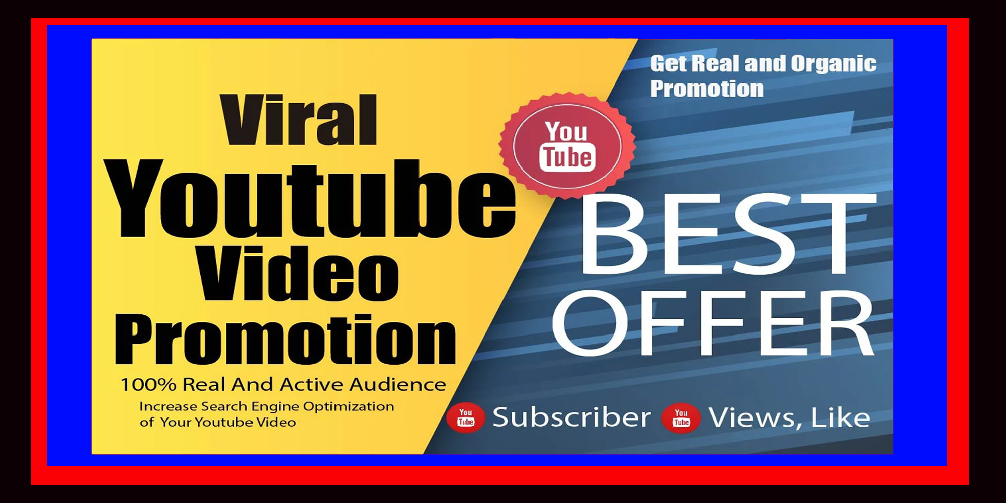 Real YouTube Video Promotion Via Adwords Marketing with Social Media Ranking