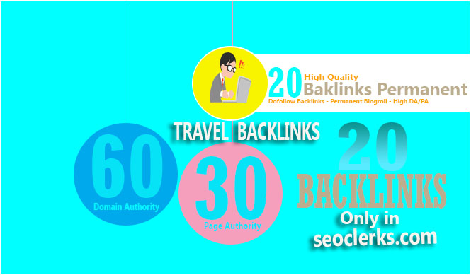 Give Link Da60x20 Site Travel Niche Blogroll Permanent