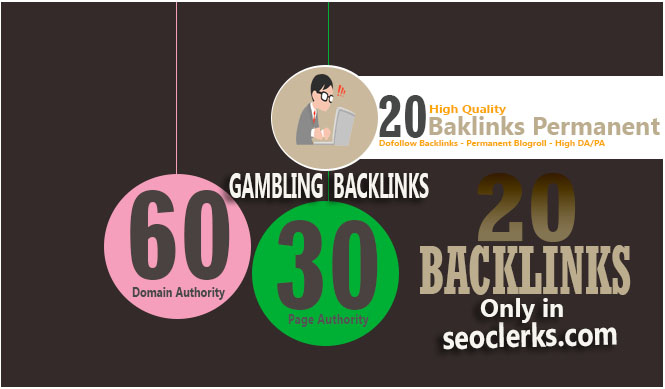 Give Link 20xDA60 Site GAMBLING Blogroll
