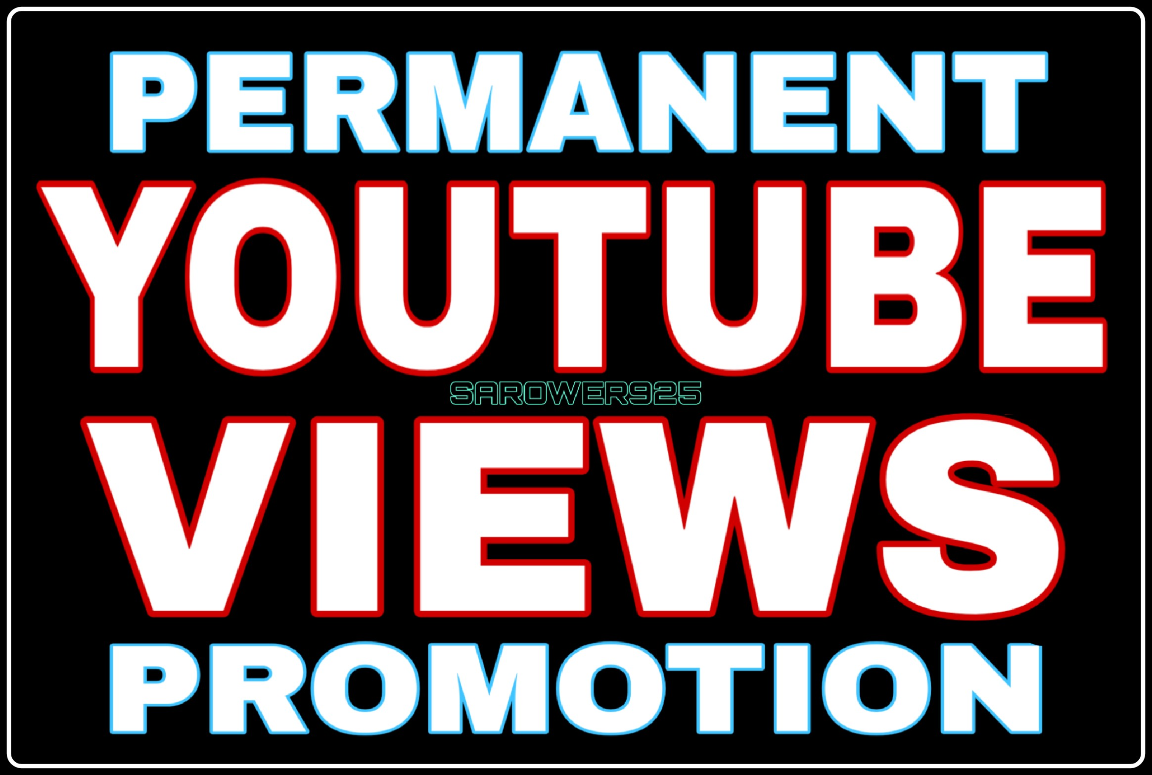 High Quality Non-drop youtube video promotion very fast
