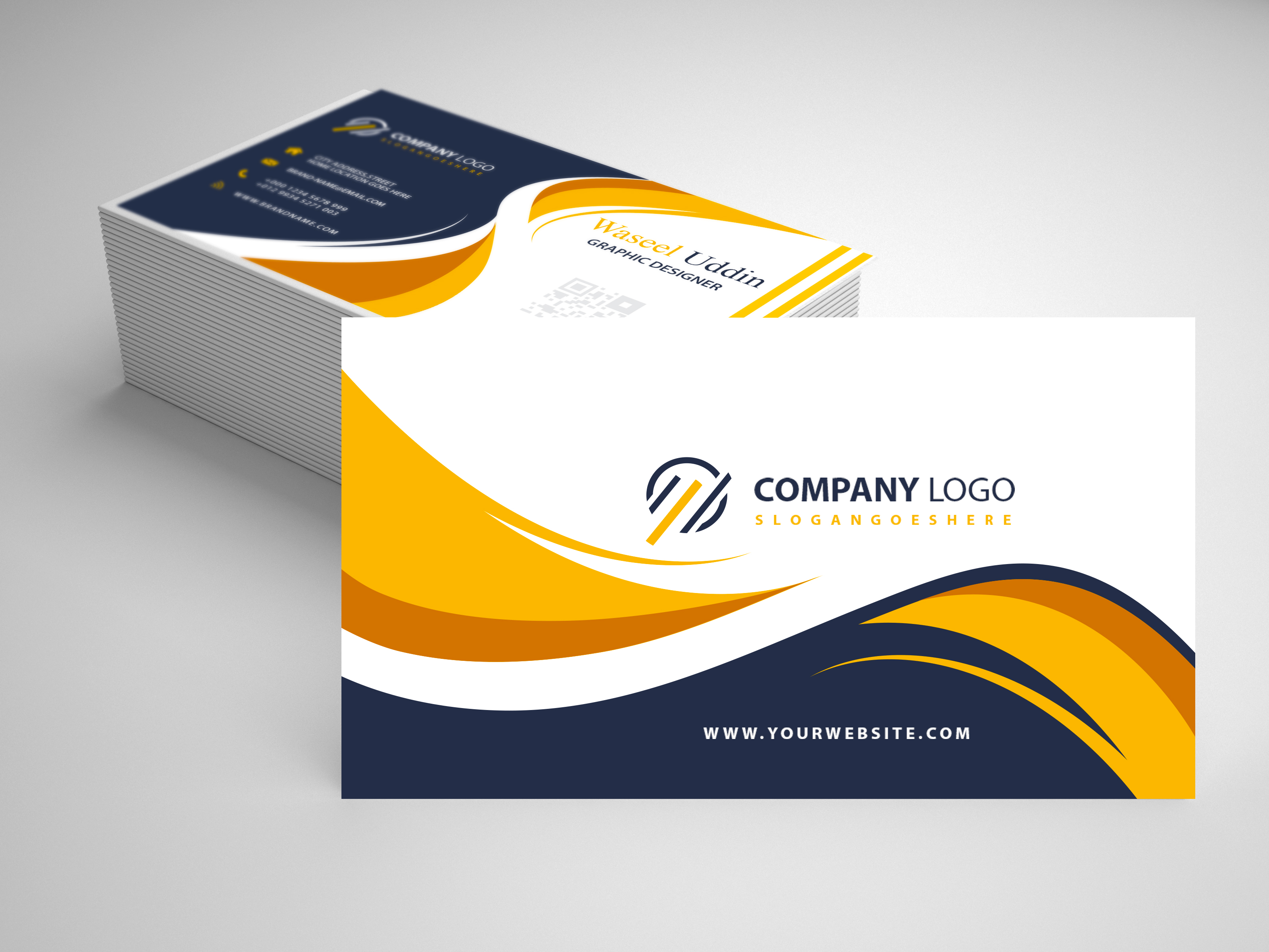 Design A Professional Business Card.