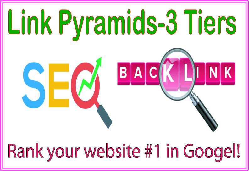 Boost Link Pyramids 3 Tiers of backlinks-edu-Wiki articles Backlinks-Social networks profiles