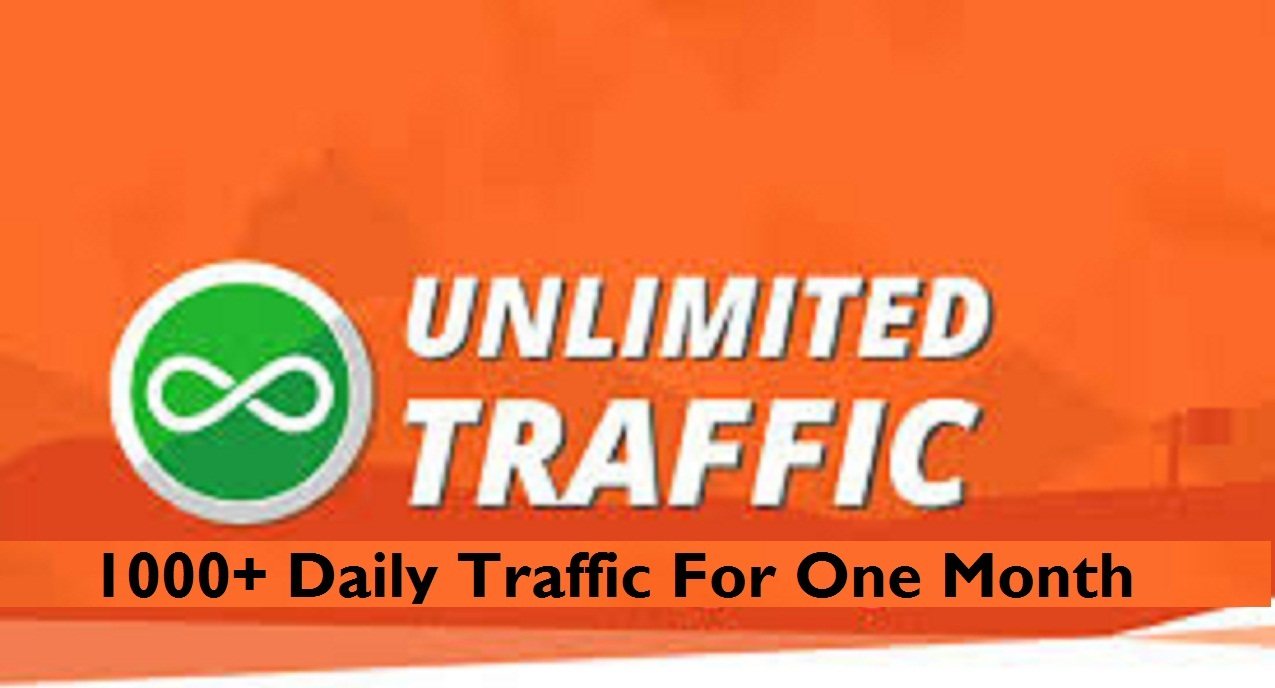 1,000+ Daily Traffic to Your Website for 1 year 365 days