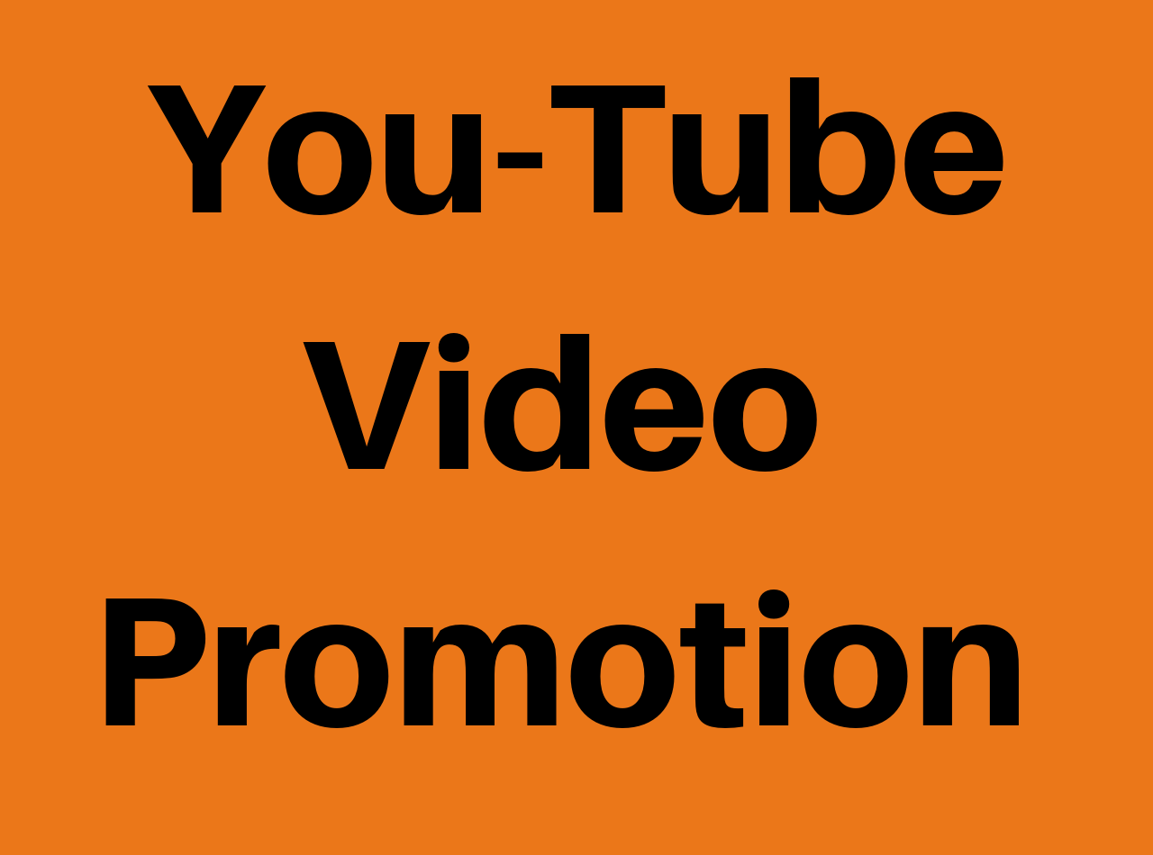 Promote your Video to Large Audience