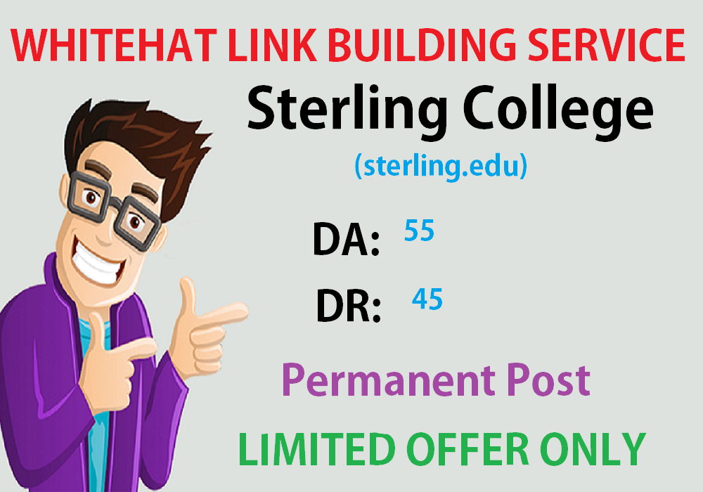 Write & Post On Sterling College Sterling. edu DA55