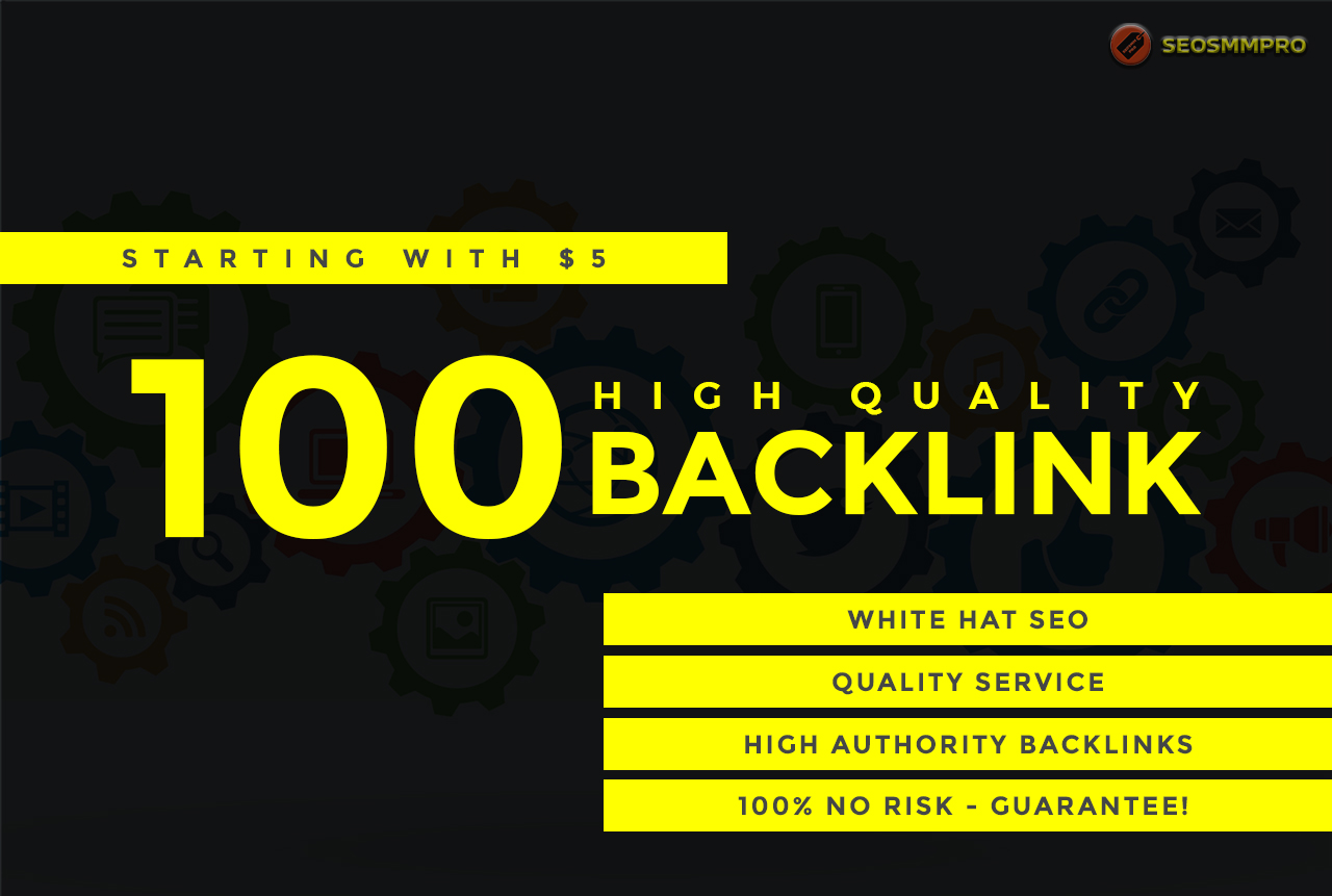 Make 100 High Authority Backlinks For Your Website