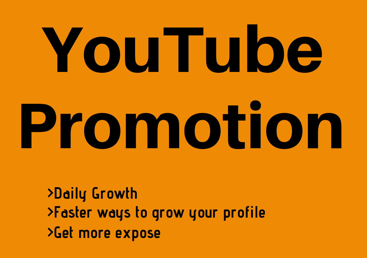 Promote your YouTube Video to Large Audience