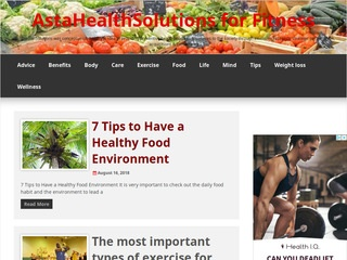 AstaHealthSolutions for Fitness