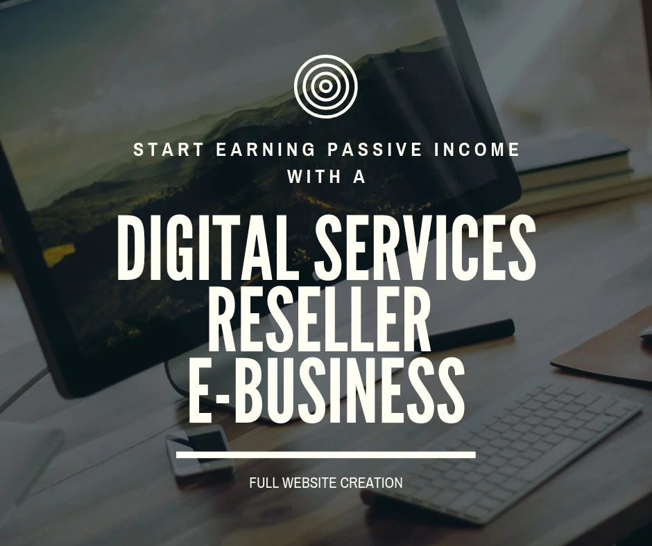 Build you digital services reselling website for passive income