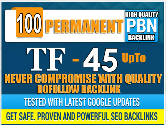 create pbn high tf cf da pa backlink permanent