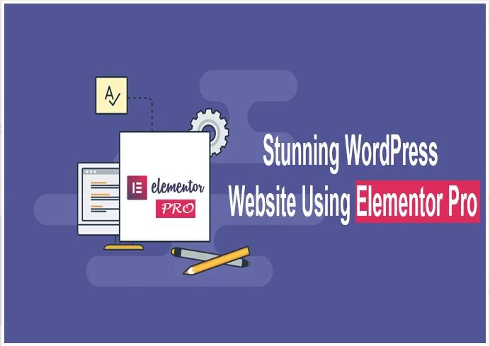 Create landing page elementor pro or wordpress website